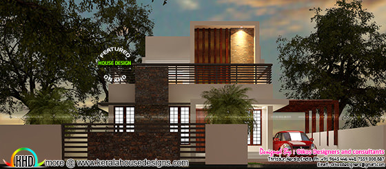 Simple contemporary home