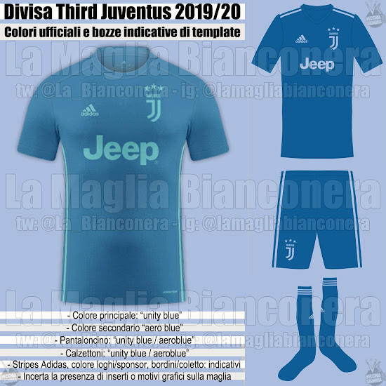 d59f7e6ae Completing the set will be the Juventus 2019-20 third shirt