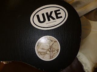 ukulele case stickers