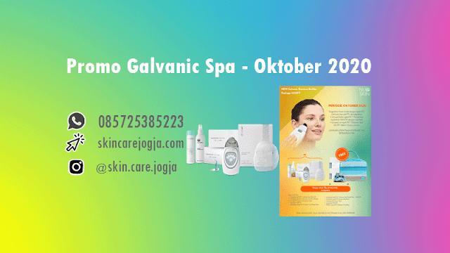 Promo Galvanic Spa Nu Skin Oktober 2020