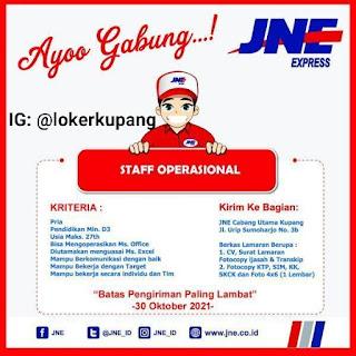 Lowongan Kerja JNE Cabang Kupang Sebagai Staff Operasional