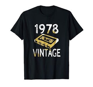 40th Birthday Gift Vintage 1978 T-Shirt Men Women