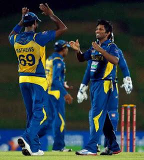 Sri Lanka vs New Zealand 4th ODI 2012 Highlights