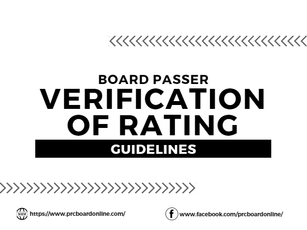 verification of rating let september 2019