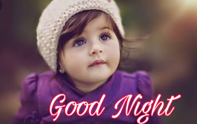 cute baby good night image pics photo hd quality download