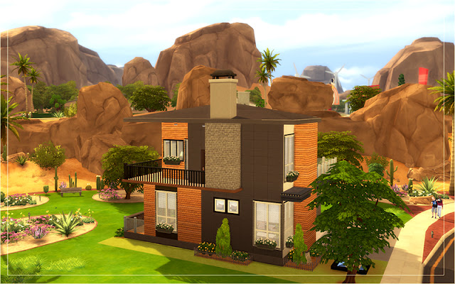 Sims 4 Desert House Preview