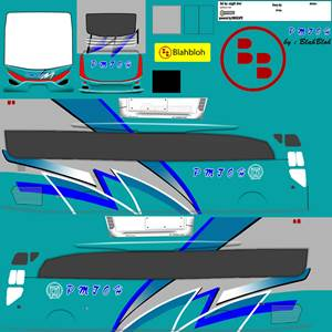 livery bussid hd sumatera pmtoh