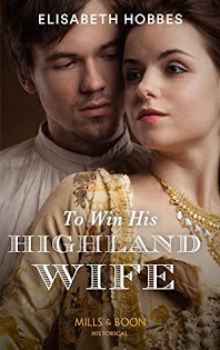 To Win His Highland Wife by Elisabeth Hobbes cover