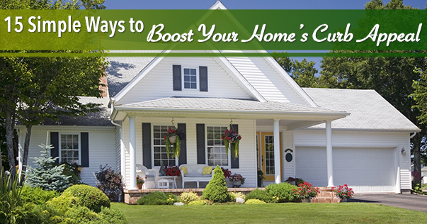15 Simple Ways to Boost Your Home's Curb Appeal