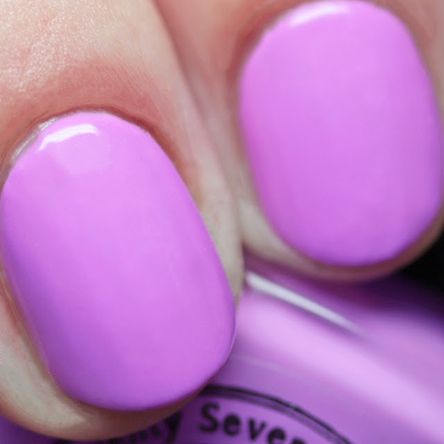 Seventy-Seven Nail Lacquer Froyo Information