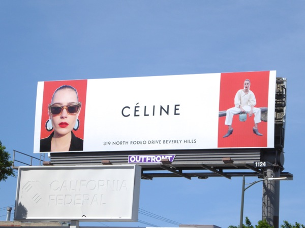 Celine Spring 2016 fashion billboard