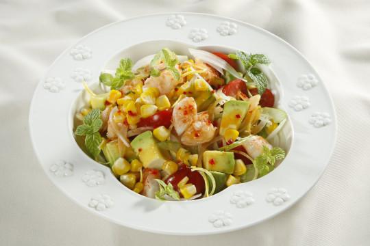 Cách làm Salad bắp nướng