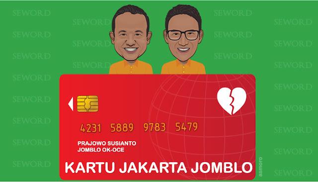Anies - Sandi Siap Terbitkan Kartu Jakarta Jomblo