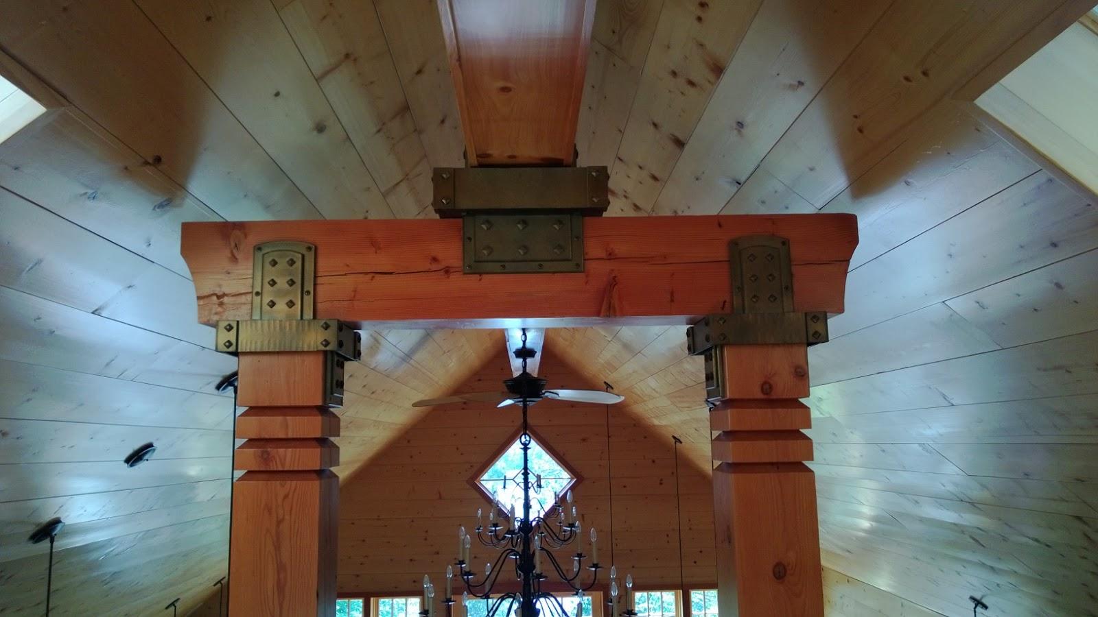 Island City Forge Decorative Beam Brackets