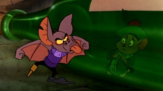 Fidget The Great Mouse Detective 1986 Vincent Price animatedfilmreviews.filminspector.com