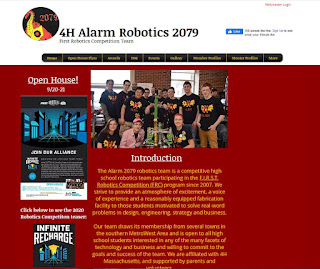 The Alarm 2079 robotics team is a competitive high school robotics team