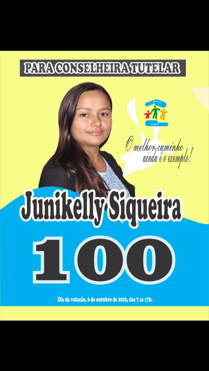 Eleições Conselho Tutelar: Candidata Junikele Siqueira