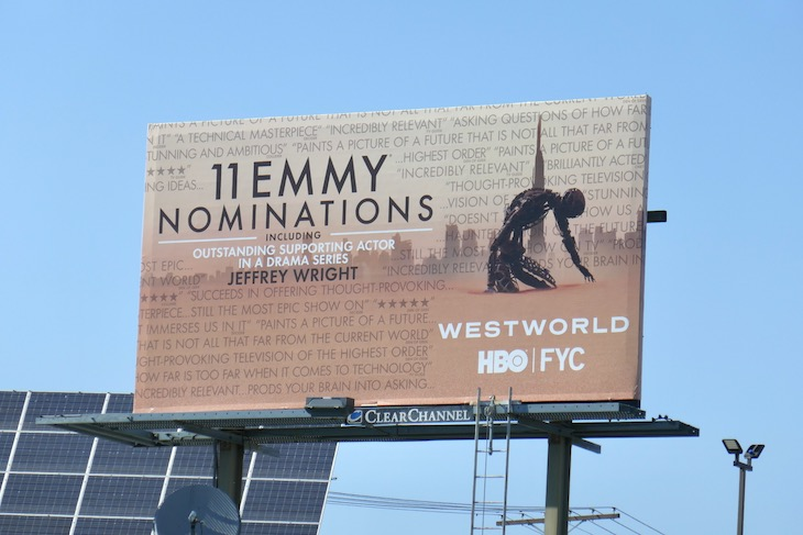 Westworld 2020 Emmy nominee billboard