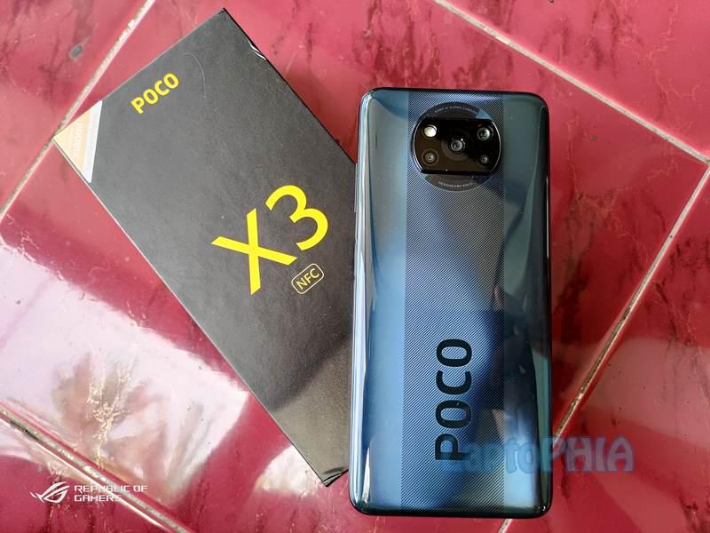 Desain Poco X3 NFC