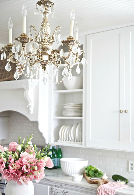 Why I Took The Kitchen Cupboard Doors Off French Country Cottage