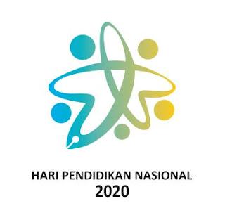 Logo Peringatan Hari Pendidikan Nasioan Tahun 2020