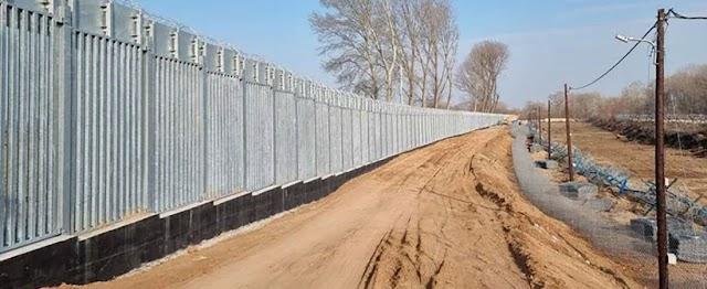 Σε πλήρη εξέλιξη, ένα χρόνο μετά, ο φράχτης στον Έβρο (ΦΩΤΟ)