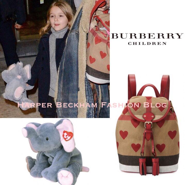 Harper Beckham Fashion Blog February 2017