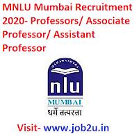 MNLU Mumbai Recruitment