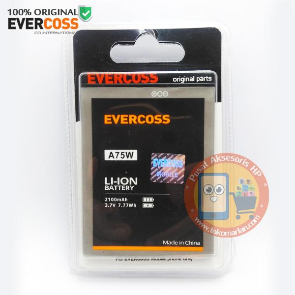 Jual Baterai Evercoss A75W Original 100%
