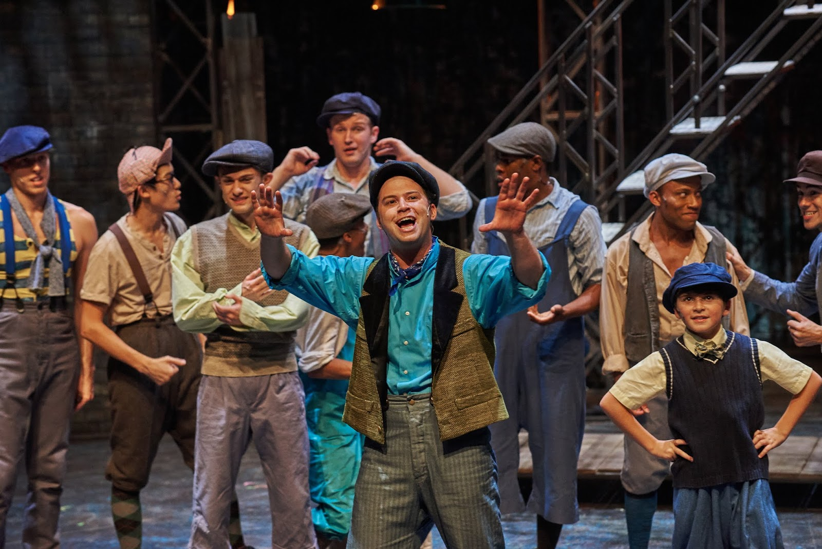 Make Sure to See Disney's Newsies Playing at Aurora Theatre  via  www.productreviewmom.com