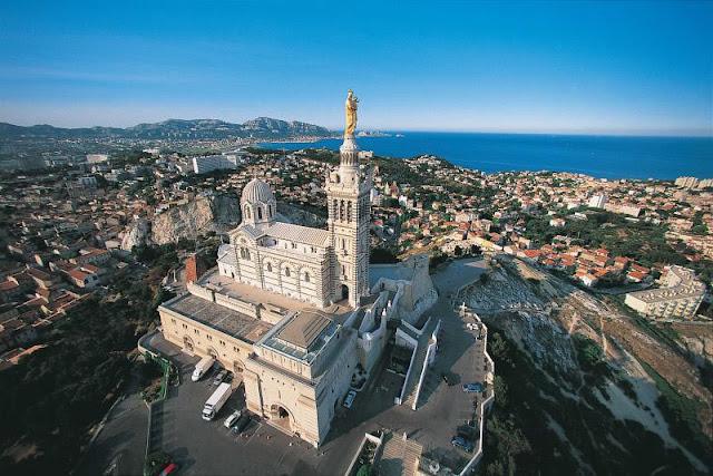 Notre Dame de la Garde em Marselha