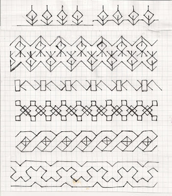diaper patterns for borders