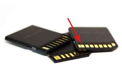Memperbaiki memory card dengan membersihkannya
