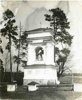 Kapliczka w Czombrowie przed II w św Fot. polesie.org