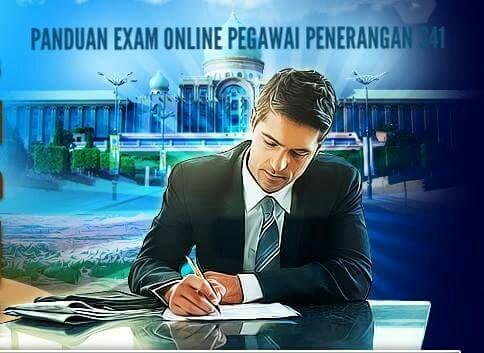 Panduan Exam Online Pegawai Penerangan S41