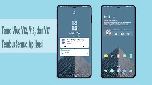 Download Tema Vivo Y12, Y15, dan Y17 Tembus Semua Aplikasi