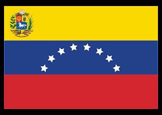 Bandera Oficial de la Republica Bolivariana de Venezuela Logo Vector