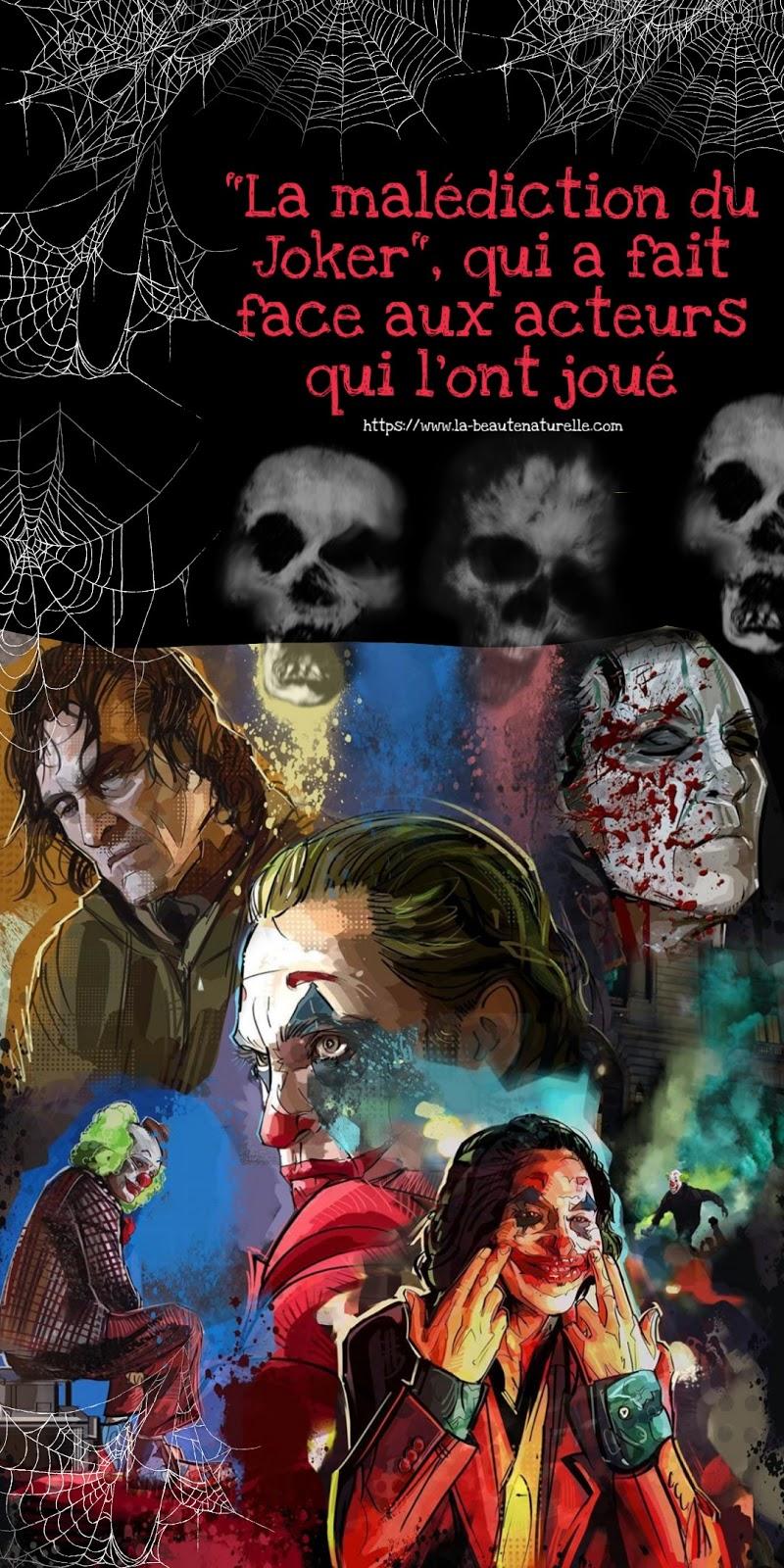 """""""La malédiction du Joker"""", qui a fait face aux acteurs qui l'ont joué"""