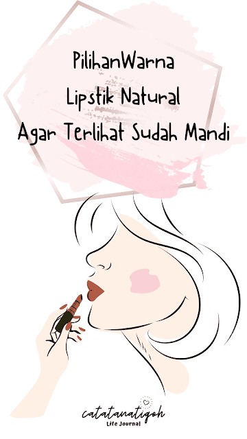 Warna Lipstik Natural
