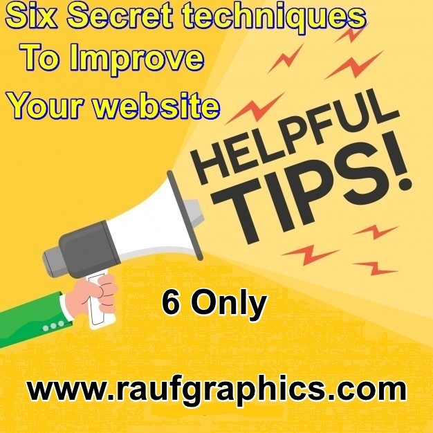 Apply Only 6 Secret-Techniques To Improve your Website/blog