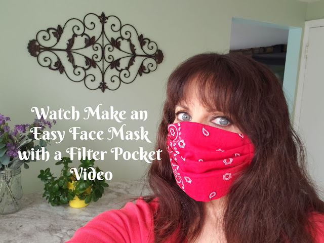 watch make an easy face mask video
