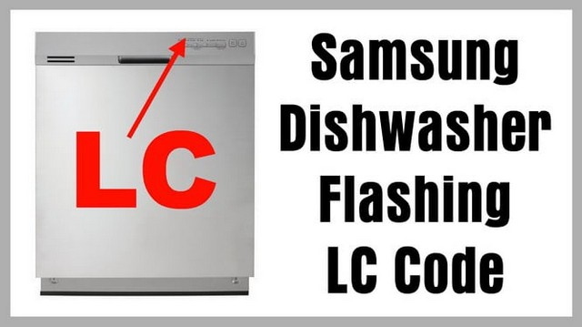 2 Lights Flashing On Samsung Dishwasher