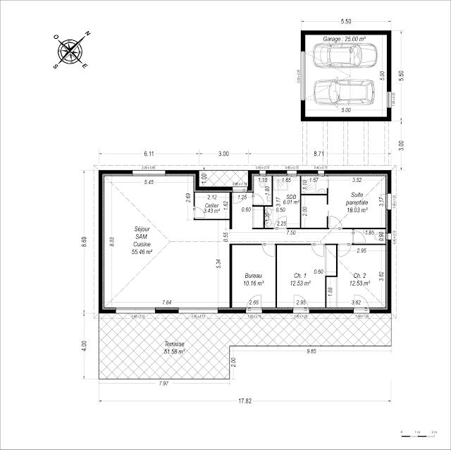 Permis de construire 13 composition d 39 un dossier de for Construire maison 91
