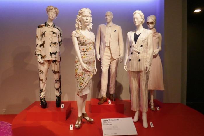 Crazy Rich Asians costume exhibit