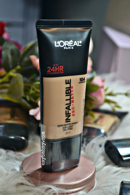 review-loreal-infallible-pro-matte-foundation-esybabsy