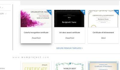 Situs untuk Download Template Sertifikat