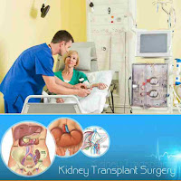 An image showing a patient that undergo Kidney transplant