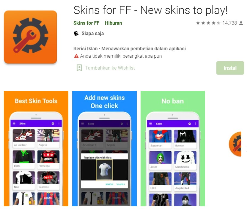 Skin For FF