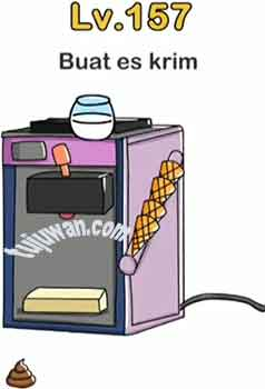 Buat Es Krim Jawaban Brain Out Level 157