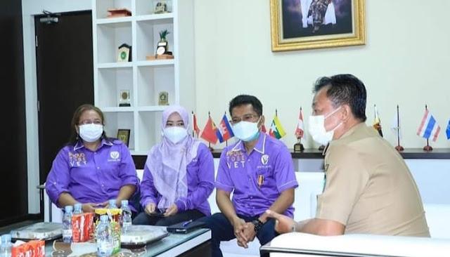 Wakil Walikota Terima Audiensi Dari Dinas Ketahanan Pangan dan Peternakan Sumsel